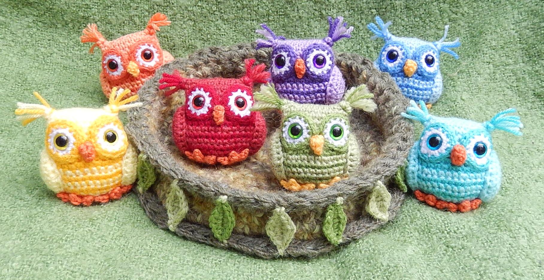 Nesting Rainbow Owls
